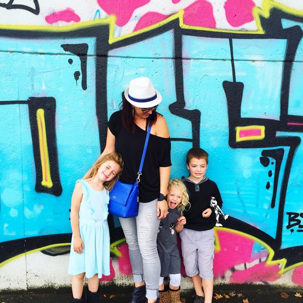 Exploring Frankfurt, Germany with my kiddos