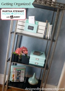 Getting Organized with Martha Stewart Home Office with Avery