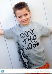 Boy's Off the Hook-Fabric Ink Tee