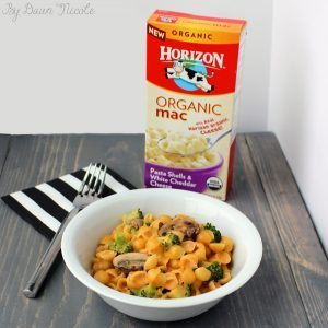 One-Pot Creamy Mac and Cheese with Broccoli and Mushrooms #macnator #ad | bydawnnicole.com