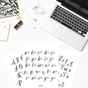 Modern Calligraphy 101