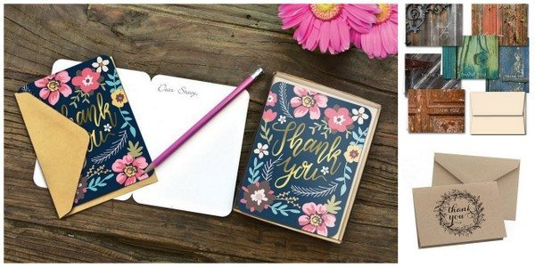 10 Sweet Sets of Thank You Notecards | DawnNicoleDesigns.com