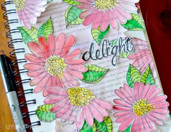 10 Art Journal Ideas | www.dawnnicoledesigns.com