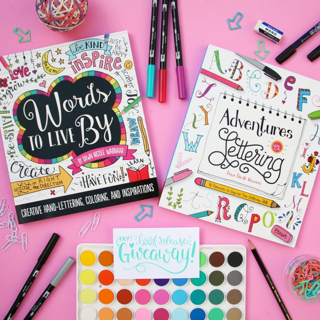 Adventures in Lettering Book Release + Giveaway!