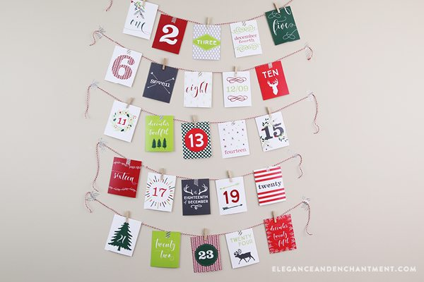 To help Elegance & Enchantment celebrate the launch of their new Inspirational Planner Subscription, we are offering their Printable Advent Calendar ($12 value) as a free download to anyone who purchases a 12-month subscription before December 1, 2016.