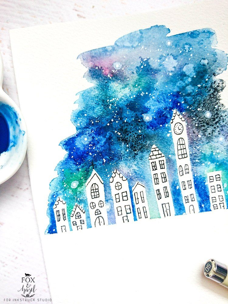 10 Galaxy Inspired Art Tutorials & Ideas | www.dawnnicoledesigns.com