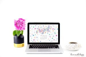 August 2017 Printable Calendar + Tech Pretties