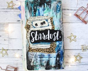 Step-by-Step Stardust Art Journal Tutorial