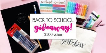 Back to School Favorite Things Giveaway
