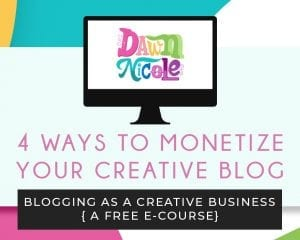 Four Ways to Monetize Your Creative Blog