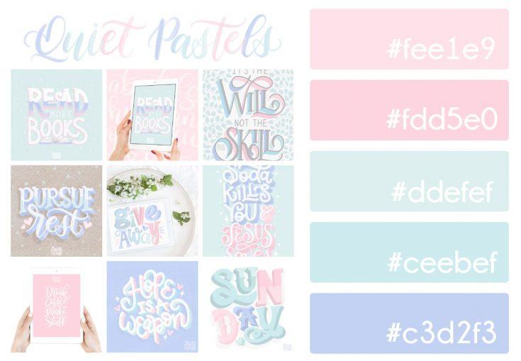 Quiet Pastels Color Palette